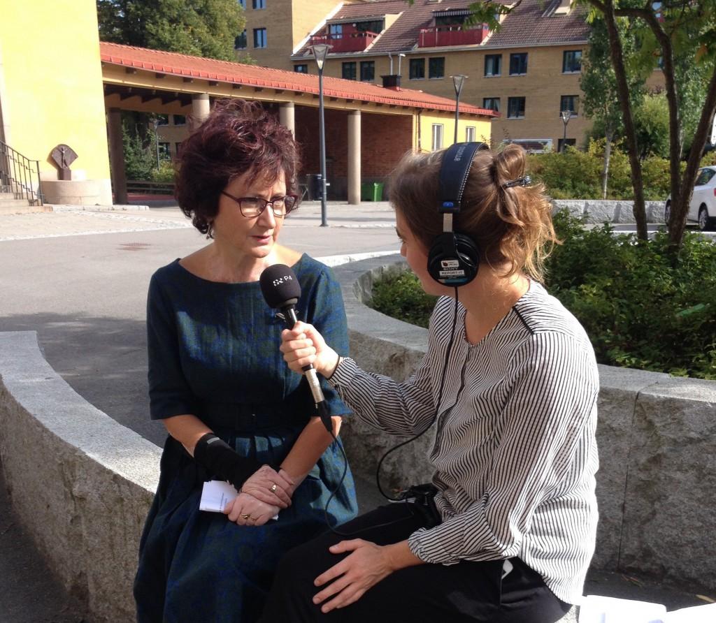 Ilona intervjuad beskuren