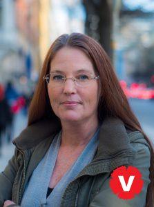 Nina Broman Costa, Vänsterpartiets fjärde namn på listan till Europaparlamentsvalet 2019.